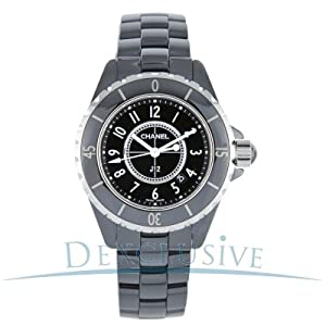 Chanel Women's H0682 J12 Black Dial Watch from Chanel