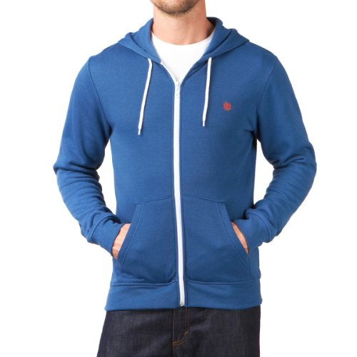 Element Men's Smith Zip Hoodie - Blue Shadow (L)