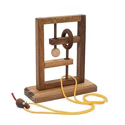 BRAIN GAMES The Rat Trap Wooden Puzzle