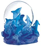 Snow Globe Dolphin Collection Desk Figurine
