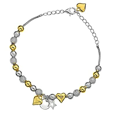 Hot Diamonds Just Add Love Trinket Bracelet