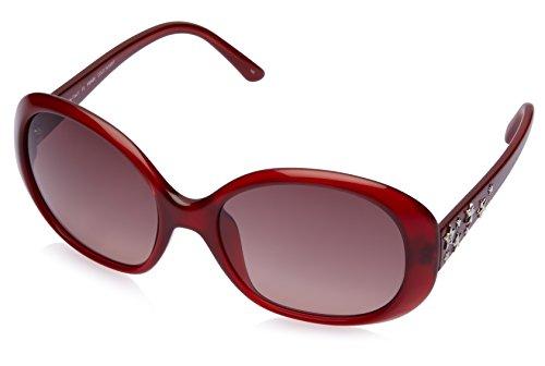 Fendi Fendi Oversized Sunglasses (Red) (FS 5186|608|58) (Multicolor)