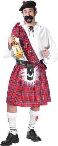 Men's Plus Size Big Shot Scott Halloween Costume