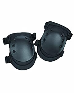 Heavy Duty Swat Knee Protection Pads Protective Security Paintball Airsoft Black from Mil-Tec