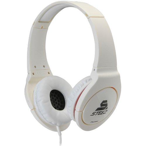 Pioneer Se-Mj721I-W Steez On-Ear Stereo Headphones - White