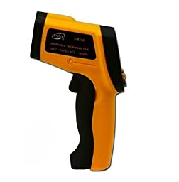 Non-contact Digital Laser IR Infrared Thermometer Temperature Gun -50 to 900 Celsius Degree (-58 to 1652F)