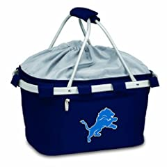 NFL Detroit Lions Metro Insulated Basket by Picnic Time