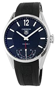 TAG Heuer Men's WV3010FC0025 Carrera Black Dial Watch