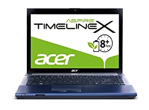 Acer Aspire TimelineX 4830TG-2434G50Mibb 35,6 cm (14 Zoll) Notebook (Intel Core i5 2430M, 2,4GHz, 4GB RAM, 500GB HDD, NVIDIA GT540M, DVD, Win 7 HP)