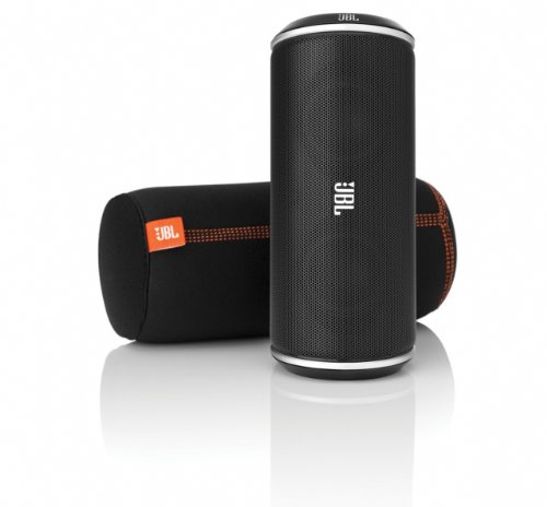 Jbl Flip 2 Portable Wireless Bluetooth Speaker With Powerbank Built-In Mic (White)