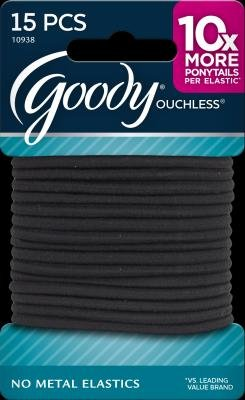 goody-ouchless-elastic-hair-bands-black-non-metal-2-packs-of-15