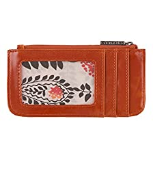 Harper Card Case, Orange, by Shiraleah