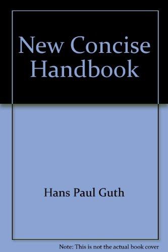 New concise handbook