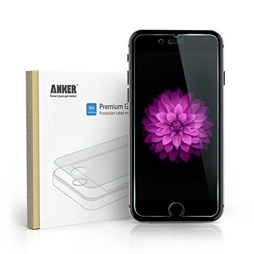 Anker iPhone 6 Plus (5.5インチ用)  強化ガラス液晶保護フィルム 9H硬度の液晶保護 & 96%の透過性 【18ヶ月保証】