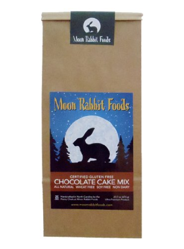 Moon Rabbit Gluten Free Ultimate Chocolate Cake Mix, 23.7-Ounce