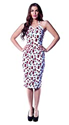 TATYANA LLC BETTIE PAGE CHERRY PRINT HEAT DRESS (Small)