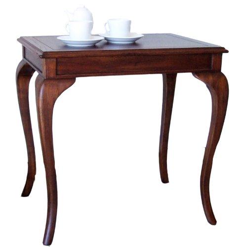 クロシオ ウェール コーヒーテーブル 幅61cm×46cm 天然木  猫脚 ミニテーブル サイドテーブル