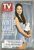 img - for Tv Guide Feb 7-13 1998 Figure Skater Michelle Kwan Olympics Preview Winter Games book / textbook / text book