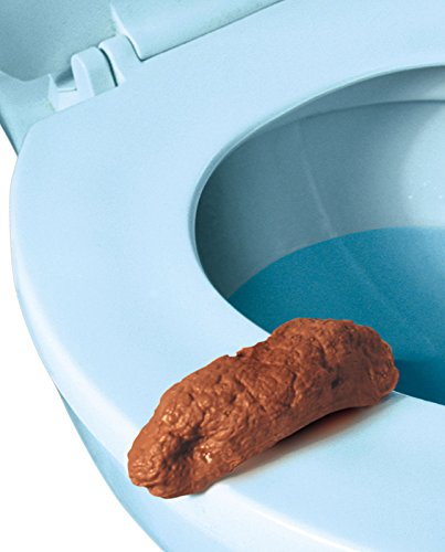 Loftus Gross Party Pooper Fake Poo Toy, Brown, 4""