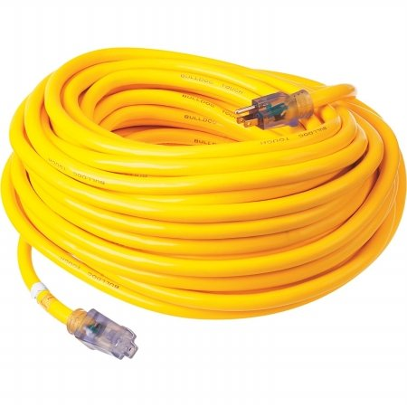 Prime Wire & Cable LT511935 100-Foot 10/3 SJTOW Bulldog Tough Ultra Heavy Duty Extension Cord with Prime Light Indicator Light, Yellow (Electric Extension Cord 100 compare prices)