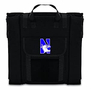 Buy NCAA Northwestern Wildcats Portable Stadium Seat by Picnic Time