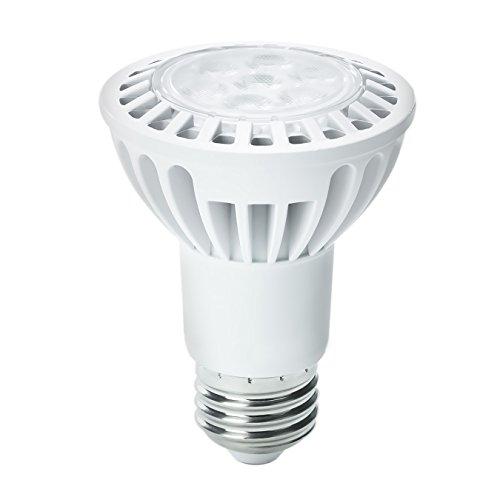 Kobi Electric K6L1 6-Watt (45-Watt) Par20 Led 5000K Cool White Indoor Narrow Flood Light Bulb, Dimmable