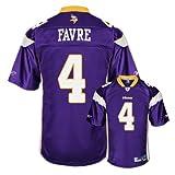 Brett Favre Purple Reebok NFL Premier Minnesota Vikings Jersey