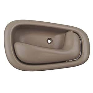 toyota corolla passenger side interior door handle tan automotive. Black Bedroom Furniture Sets. Home Design Ideas