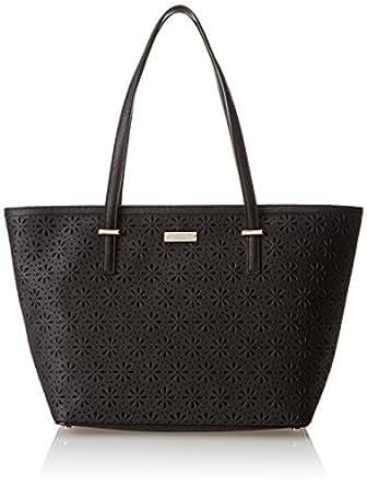 kate spade new york Cedar Street Perforated Small Harmony Shoulder Bag,Black,One Size