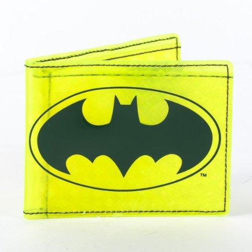 Batman Yellow Fat Free Bi-Fold Wallet