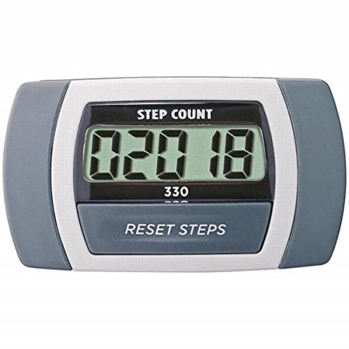 PMFREU Sportline 330 Step Pedometer – Accurately Counts Steps, Ideal For 10,000 Steps