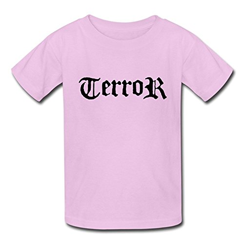 Goldfish Youth Funny Quotes Organic Cotton Terror T-Shirt XLarge