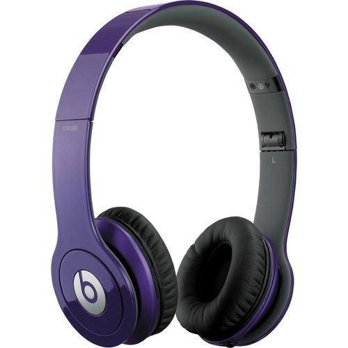 Beats Solo HD On-Ear Headphone (Purple)