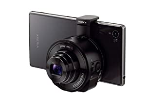 Sony DSC-QX10 /B Smartphone Attachable 4.45-44.5mm Lens-Style Camera (import)