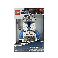 スター・ウォーズ LEGO クローンウォーズ アラームクロック キャプテン・レックス/Star Wars Clone Wars Captain Rex Alarm Clock【並行輸入】