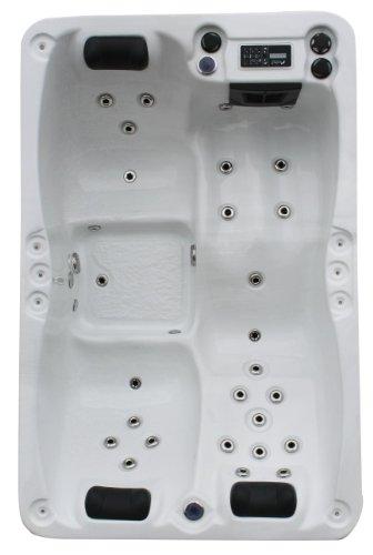 Vasa-Fit, Whirlpool W195S, Jacuzzi, Whirlpool aus hochwertigem Sanitäracryl für 2-3 Personen in...