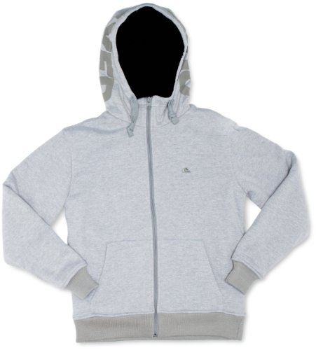 Quiksilver Sherpa N Mens Sweatshirt Light Grey Heather Large