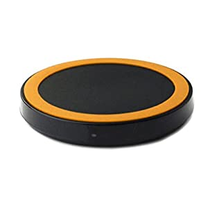 Gotd Qi Wireless Charging Pad Charging Station For Samsung Galaxy Note 7 S7 S7 Edge, S6 S6 Edge, Note 5, Google Nexus 7 6 5 4 Lumia 920, Lg G4/G3 And All Qi-Enabled Devices, Orange