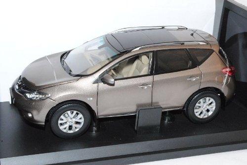 Nissan Murano 2011 Gold Z51 2008-2012 1/18 PAudi Modell Auto