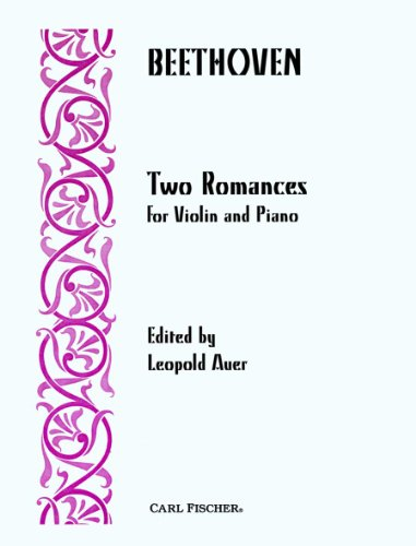 Two Romances For Violin And Piano