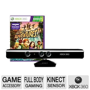 Kinect Sensor with Adventures (Refurbished)