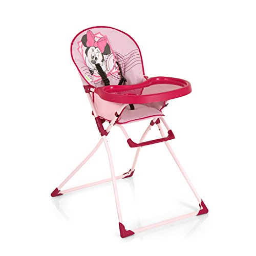 Hauck Chaise Haute - Mac Baby, Minnie rose