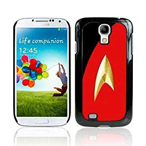 Samsung Galaxy S4 i9500 / i9505 Film TV Collection Star Trek Uniform Red Glossy Hard Back Cover Case / Shell / Shield by Call Candy