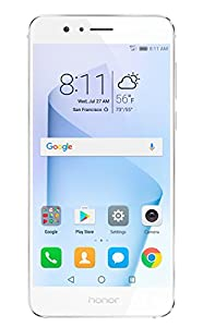 Honor 8 Dual Camera Unlocked Phone 32GB - Pearl White - GSM - US Warranty