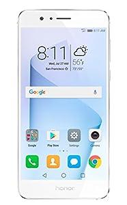 Honor 8 Dual Camera Unlocked Phone 32GB - Pearl White - GSM - US Warranty