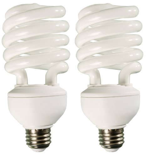 32w dayspot cfl spiral compact fluorescent grow light bulbs review. Black Bedroom Furniture Sets. Home Design Ideas