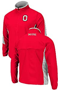 Buy Ohio State Buckeyes Red Mako Full-Zip Jacket by Colosseum by Colosseum