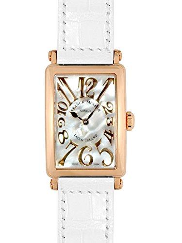 [フランクミュラー] FRANCK MULLER 腕時計 ロングアイランド ホワイトシェル PG レザー 902QZ REL MOP レディース 新品 [並行輸入品]