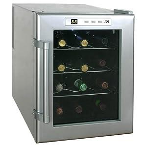 Amazon.com: Sunpentown WC-12 ThermoElectric 12-Bottle Wine