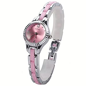 Kimio Children's Student's Girls' Quartz Bracelet Watch - Pink